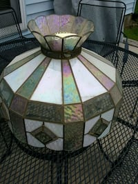 Stained glass light fixture  York, 17403