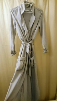 Grey dress coat/duster Size S-M Toronto, M6H 2J4