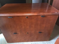 National Hiland filing cabinets, gorgeous veneer! Houston, 77037