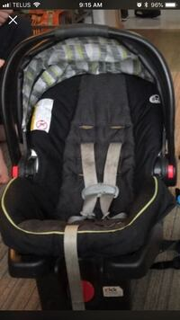 baby's black and gray car seat carrier Edmonton, T5A 2S8