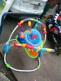 baby's blue and green jumperoo Birmingham, 35209