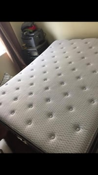 Queen size less then a year old! Paid $1200. Plus taxes. To soft for us. Nothing wrong with it at all Winnipeg, R2W 2E4