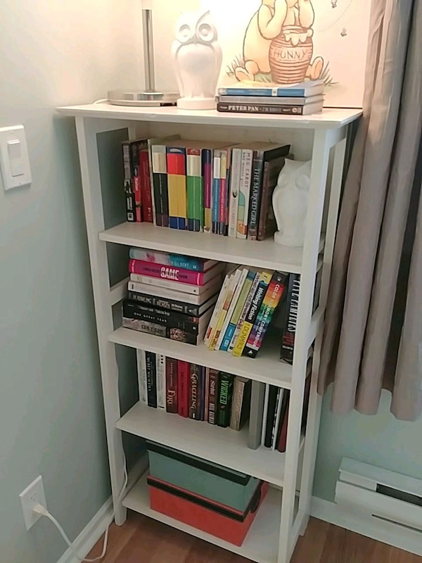 Bookcase white