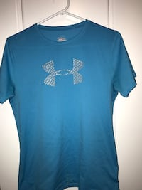 blue Under Armour crew-neck t-shirt Lethbridge, T1J 4S7