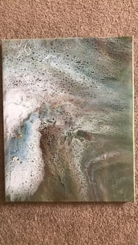 """Original Canvas Painting 20"""" by 16"""""""