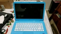 blue and white HP laptop not free! 54 mi
