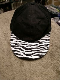 NWOT zebra billed, fitted hat Oklahoma City, 73132