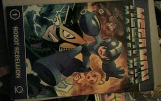 Mega Man graphic novel and comic book