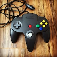 Original Genuine N64 Black Controller  Pasadena, 91104