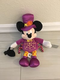 Halloween Mickey Mouse stuffed toy Richmond, V7A 3N4