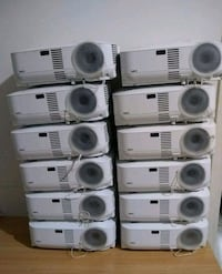 NEC projector Lot of 12, selling them just as is, lamp hours from 29 % New York, 10002