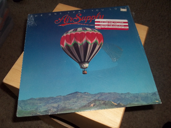AIR SUPPLY LP VINYL RECORD $5 only. Bakersfield