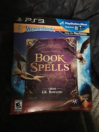 Wonderbook book of spells jk Rowling ps3 Pelham, 03076