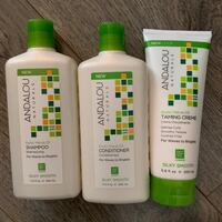 ANDALOU NATURALS SHAMPOO CONDITIONER AND TAMING CREME Vancouver, V6Z