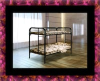 Twin bunkbed frame with mattress Falls Church, 22041