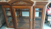 Oak China Cabinet  excellent condition  El Paso, 79925