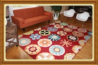 Brand new modern style rug size 7x10 nice rugs and carpets Burke, 22015