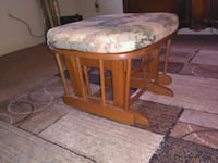 round brown wooden table with two chairs Cleveland, 37312