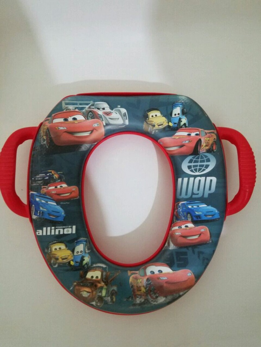 Photo Toddler Disney Cars toilet seat training booster