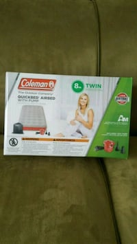 Coleman quick bed Air Mattress Twin Camping
