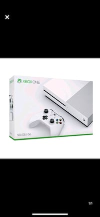 XBOX One S 500 GB with controller and 2 TB external hard drive Oakville, L6M 4P2