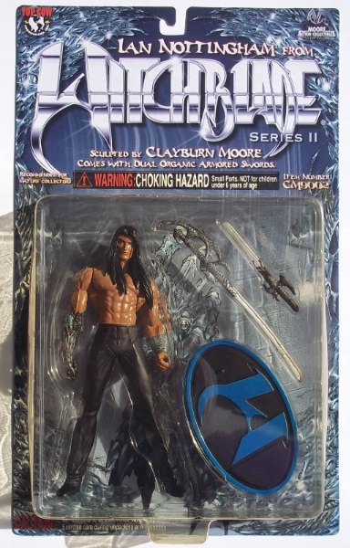 Moore Action Collectibles Brand New! WItchblade Ian Nottingham action figure
