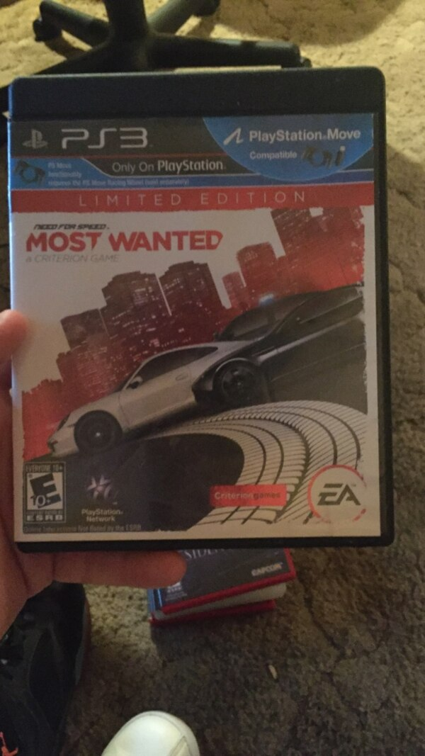Sony PS3 Need for Speed Rivals game case