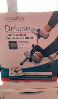 Pedal Exerciser for physiotherapy  Dollard-des-Ormeaux, H9B 2N2