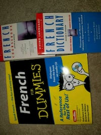 1French dictionary and book Brampton, L6S 3K8