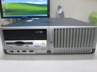 HP Compaq DC7100 SFF and 2 LCD monitors Woodbridge