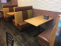 Restaurant booth seats Ashburn, 20147