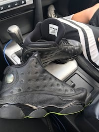 Pair of black air jordan 13's Fairfax Station, 22039