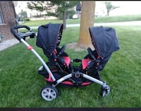 Baby's black and red stroller Greenfield, 53220