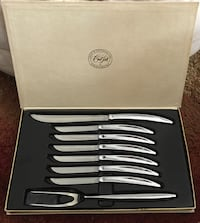 Vintage Carvel Hall Stainless Carving Set with Knives Virginia Beach, 23455
