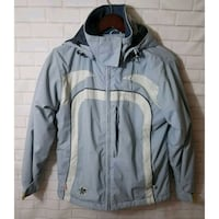 gray zip-up jacket San Diego, 92114