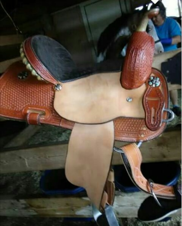 13 5 corriente youth saddle used 3x
