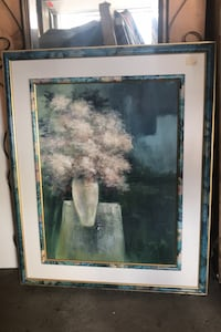 Flower painting (moving need to sale) Laval, H7W 1P2