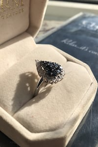 Beautiful black diamond ring. London, N5Z 2Z2