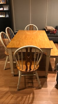 Kitchen Table with 4 chairs & bench Silver Spring, 20902