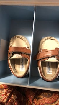 Baby Shoes. Pair of brown leather loafers Fayetteville