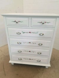 White hand painted dresser  Clarkdale, 86324