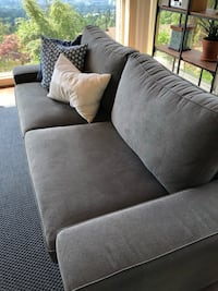 gray fabric 3-seat sofa West Vancouver, V7S 2C8