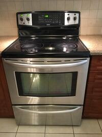 Kenmore stainless steel convection stove for sale