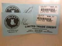 Mckays used books store credit! *open to trade!* Centreville, 20120