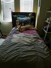 Twin bed with mattress Mississauga, L5W 1P6