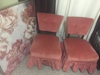 2 Rose Pink Vintage Chairs Sherwood Park, T8A 1Y5