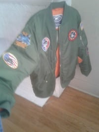 Fighter Pilot Flight Jacket