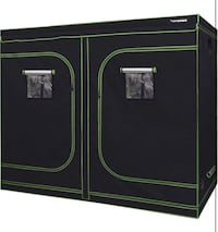 """96""""x48""""x80"""" Grow Tent, Observation Window and Floor Tray package deal"""