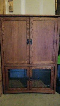 Mission Style Cabinet