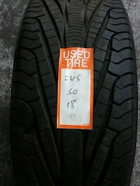 1 used tire 245-50-18 Goodyear  Chicago, 60641